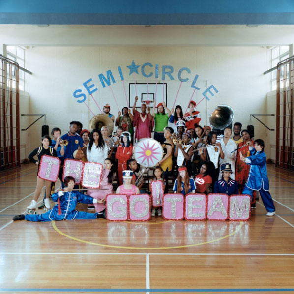 The Go! Team • SEMICIRCLE