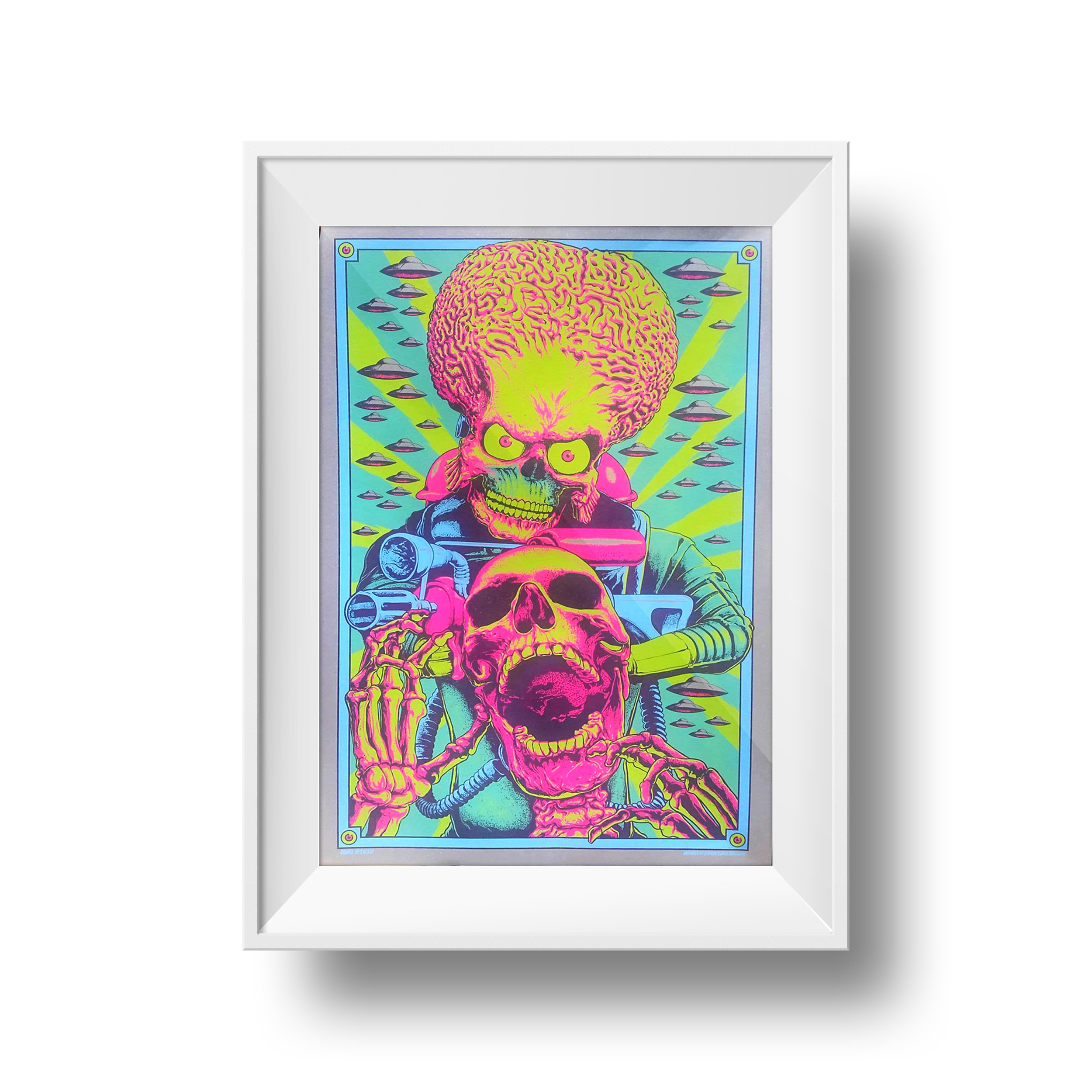 "Mars Attacks | Steven Holliday | 20"" x 30"""