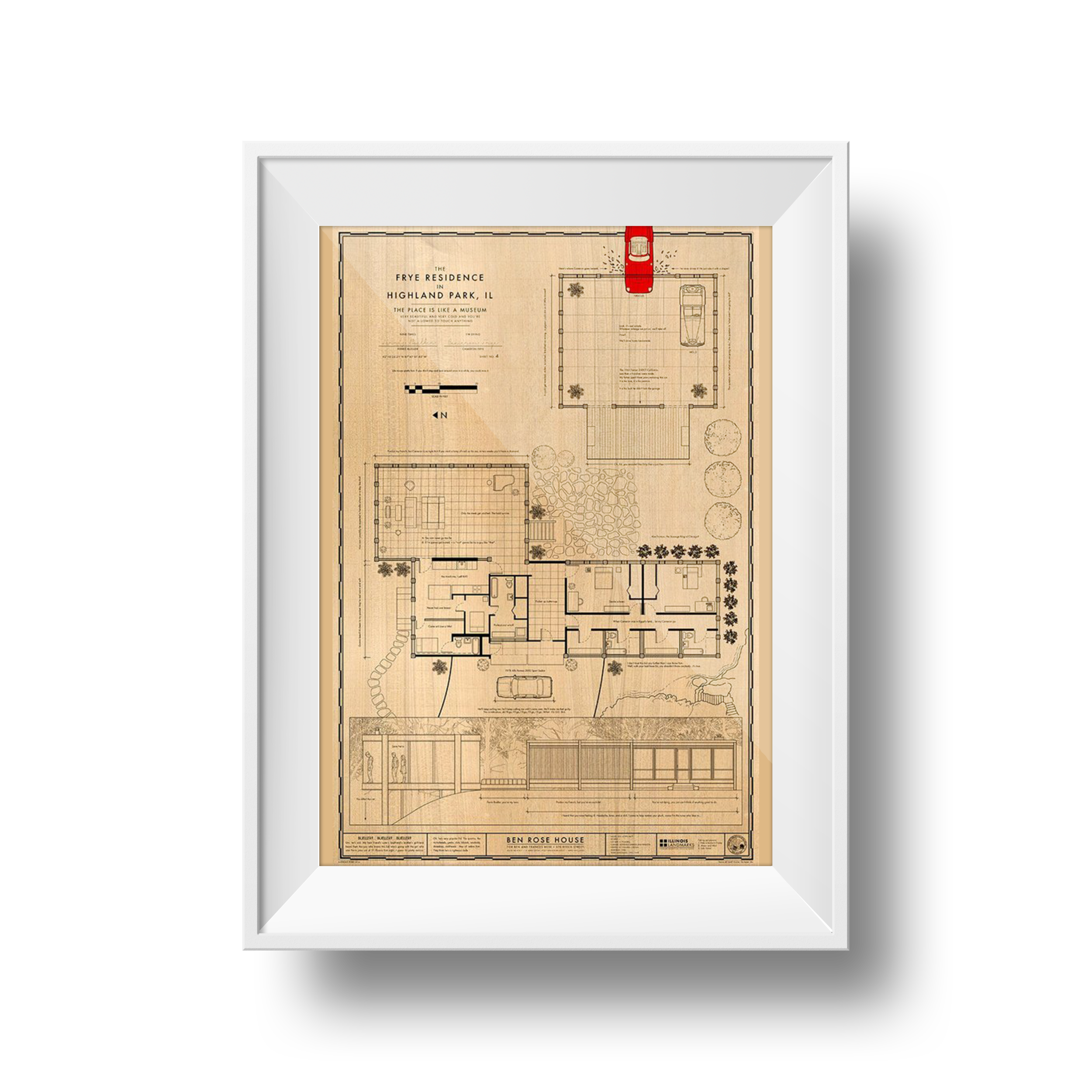 "Frye Residence | Anthony Petrie | 24"" x 36"""