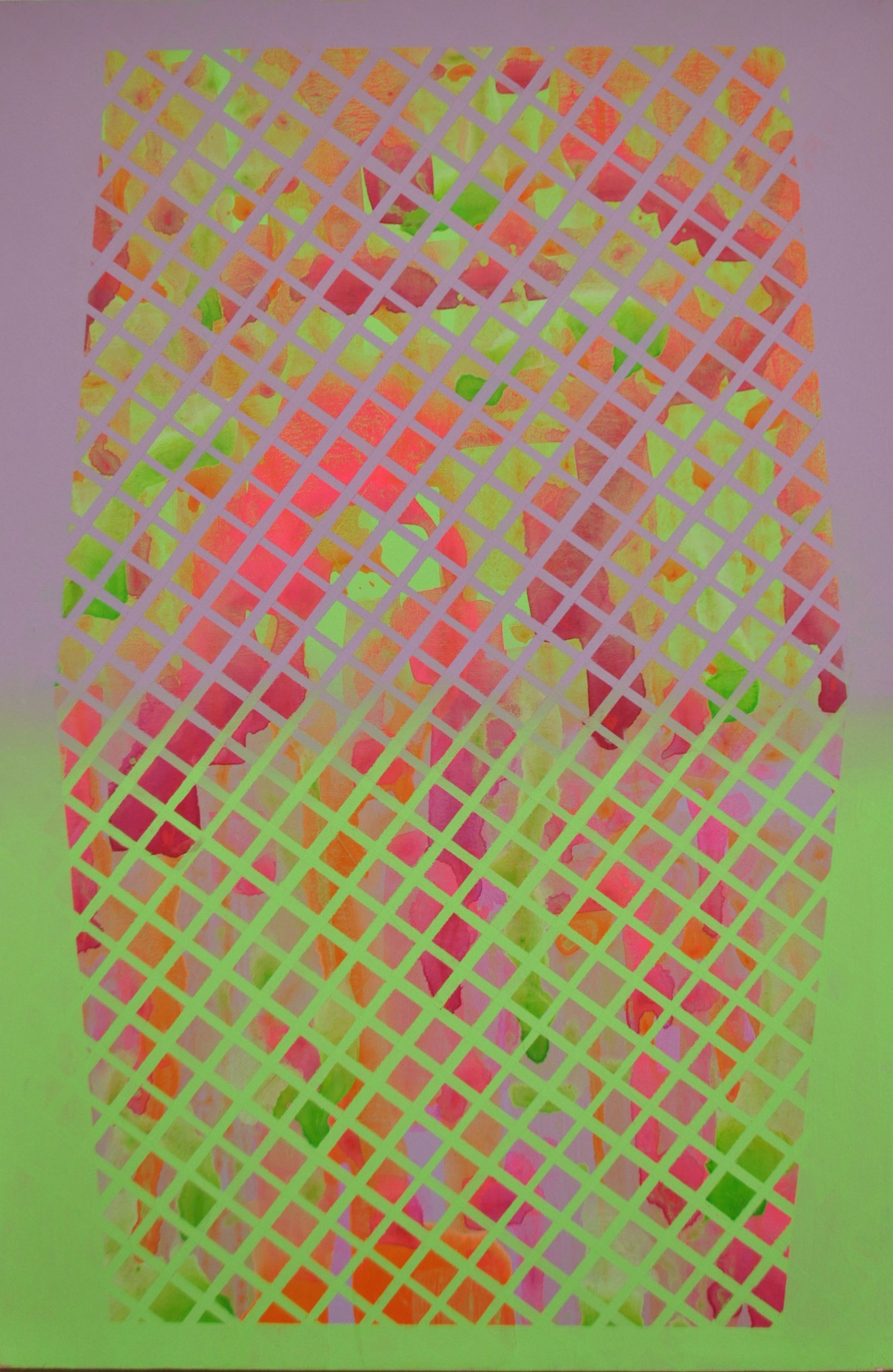 Pink to Green Pattern
