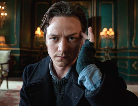 Not to mention, baby Professor X, James McAvoy.
