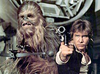 Han and Chewie, one of our favorite friendships in geekdom