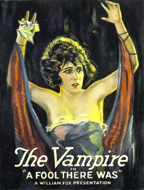 Theda Bara 's character was actually listed as  The Vamp in   A Fool There Was   (1915)