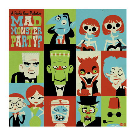 """"""" Mad Monster Party """" by   Montygog"""