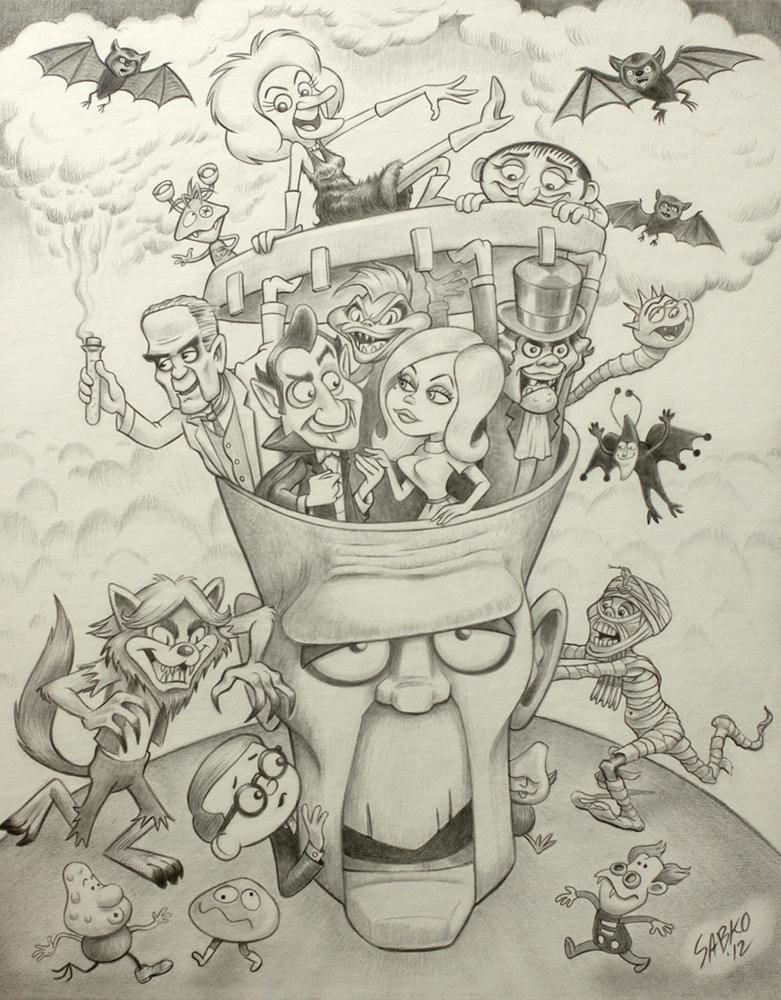 """""""Head Case""""by Harry Sabin"""
