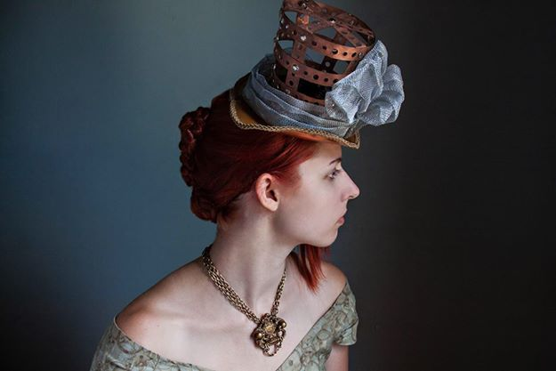 Plus wonderful fashion in the Dealer's Room. One of the shops was  Milliner Extraordinaire   by Deborah Olson - who also particpated in the TeslaCon fashion show.
