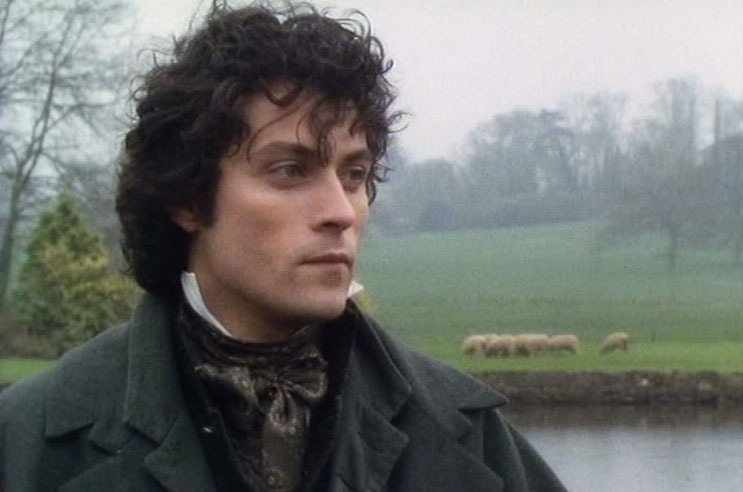 And as Will Ladislaw, a man who belongs in period clothing,  Rufus Sewell.