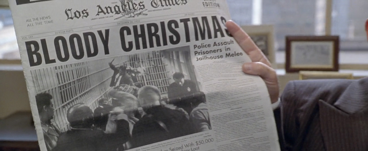 """"""" 'Bloody Christmas' The press love to label."""""""