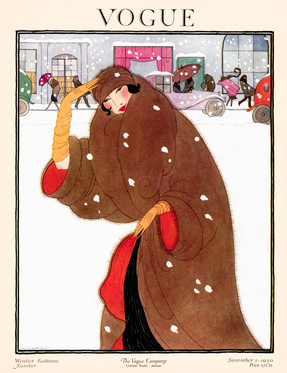 Illustrated by Helen Dryden, Vogue, November 1920