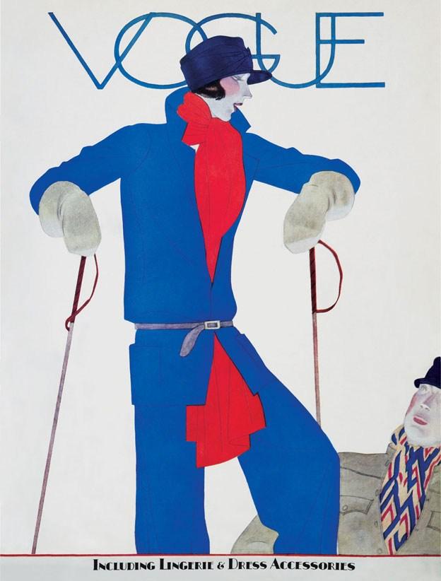Illustrator Unknown. Vogue, December 1927.