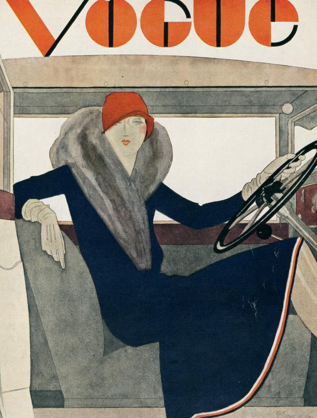 Illustrator Unknown. Vogue, March 1929.