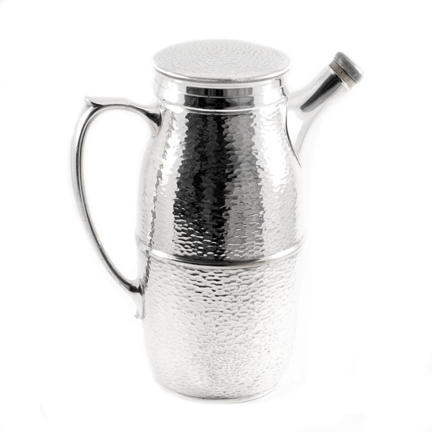 Hammered Silverplate Shaker