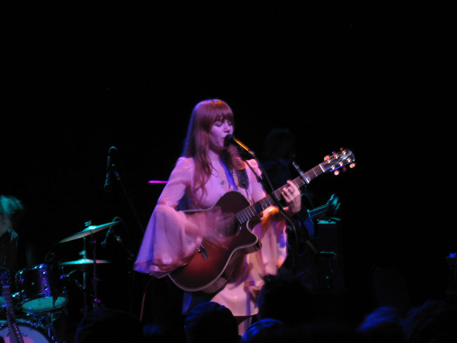 Jenny Lewis at Irving Plaza, March 18, from  Bumpershine .