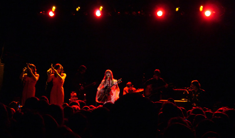 Jenny Lewis and the Watson Twins at Irving Plaza, March 18th, from  Fresh Bread.