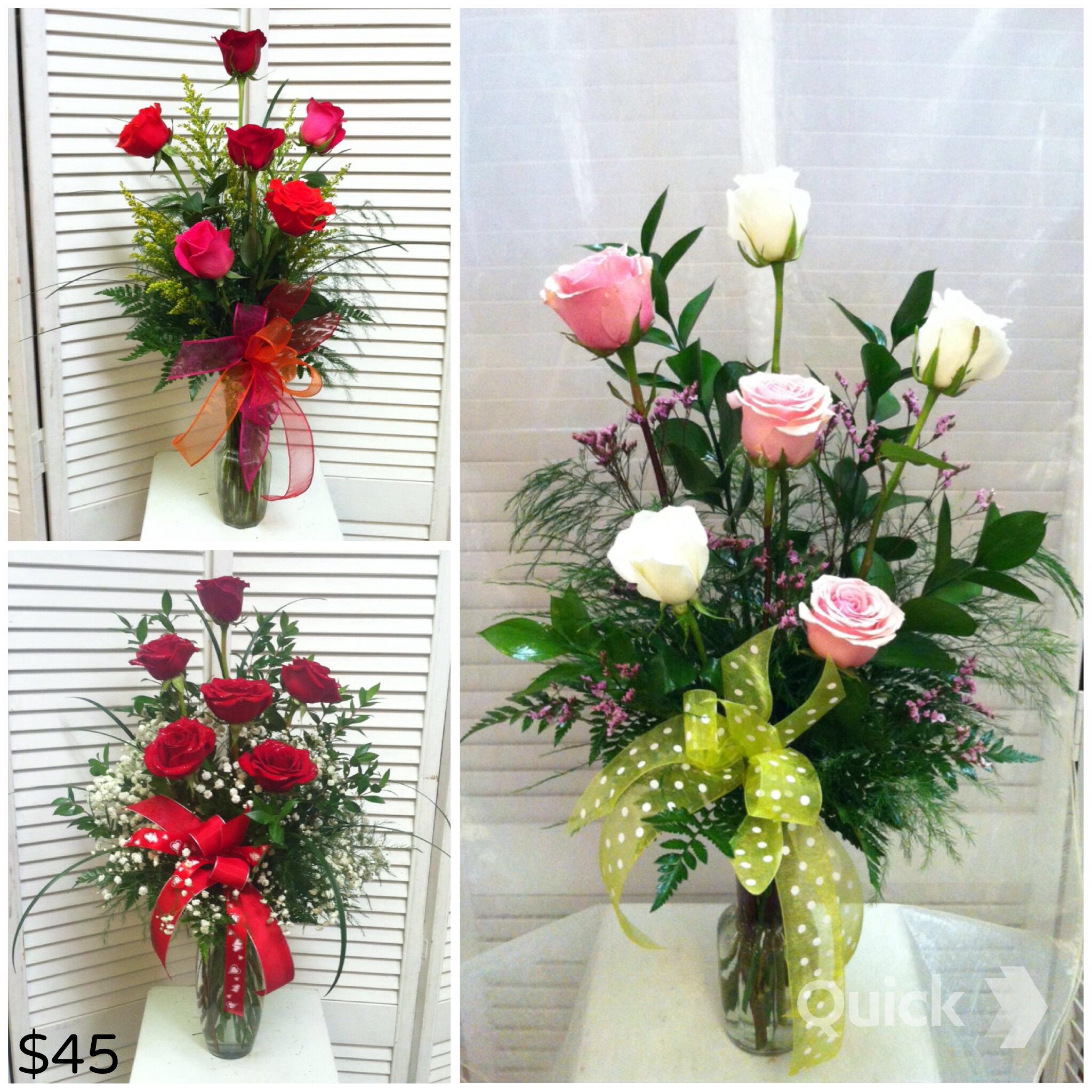 Standard Half Dozen Roses