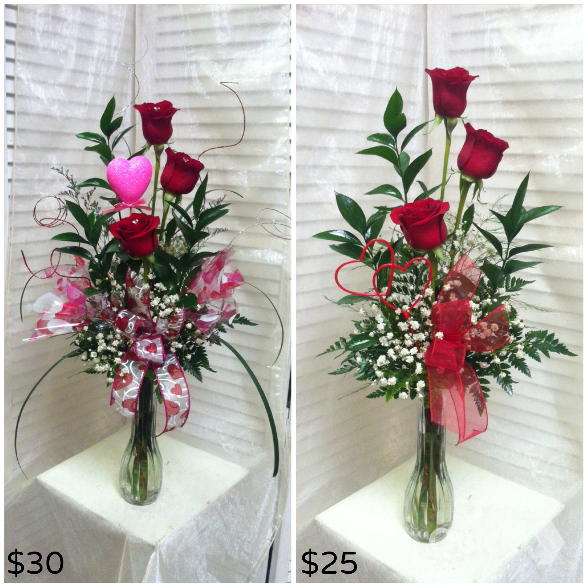 3 Roses, Deluxe and Standard