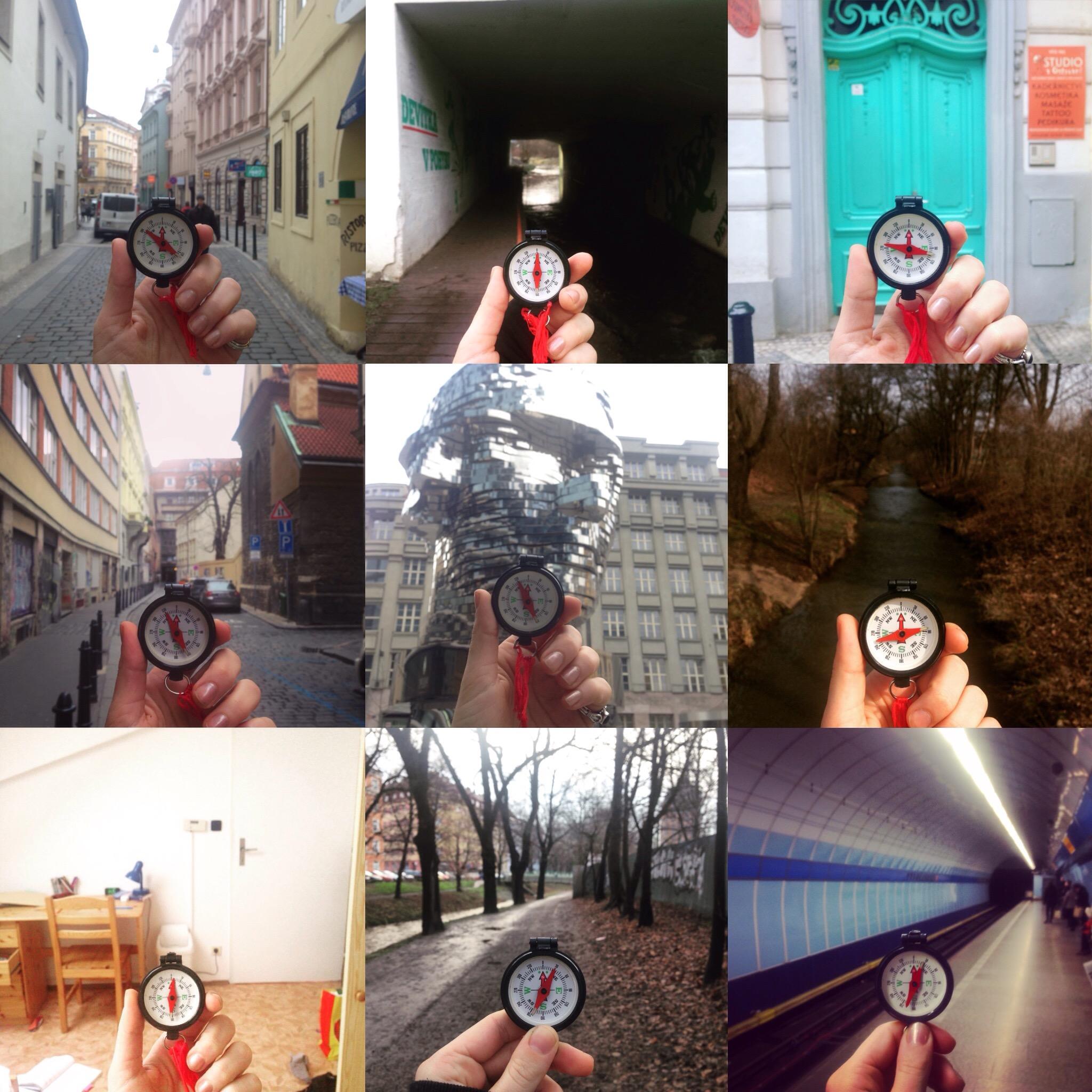 Two weeks of walking around Prague