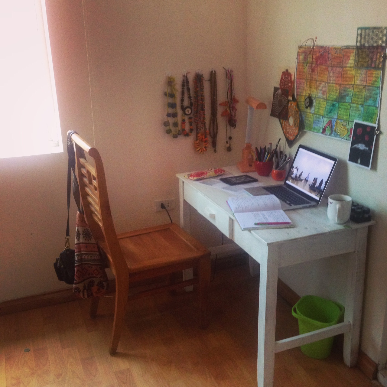 My new study space at home