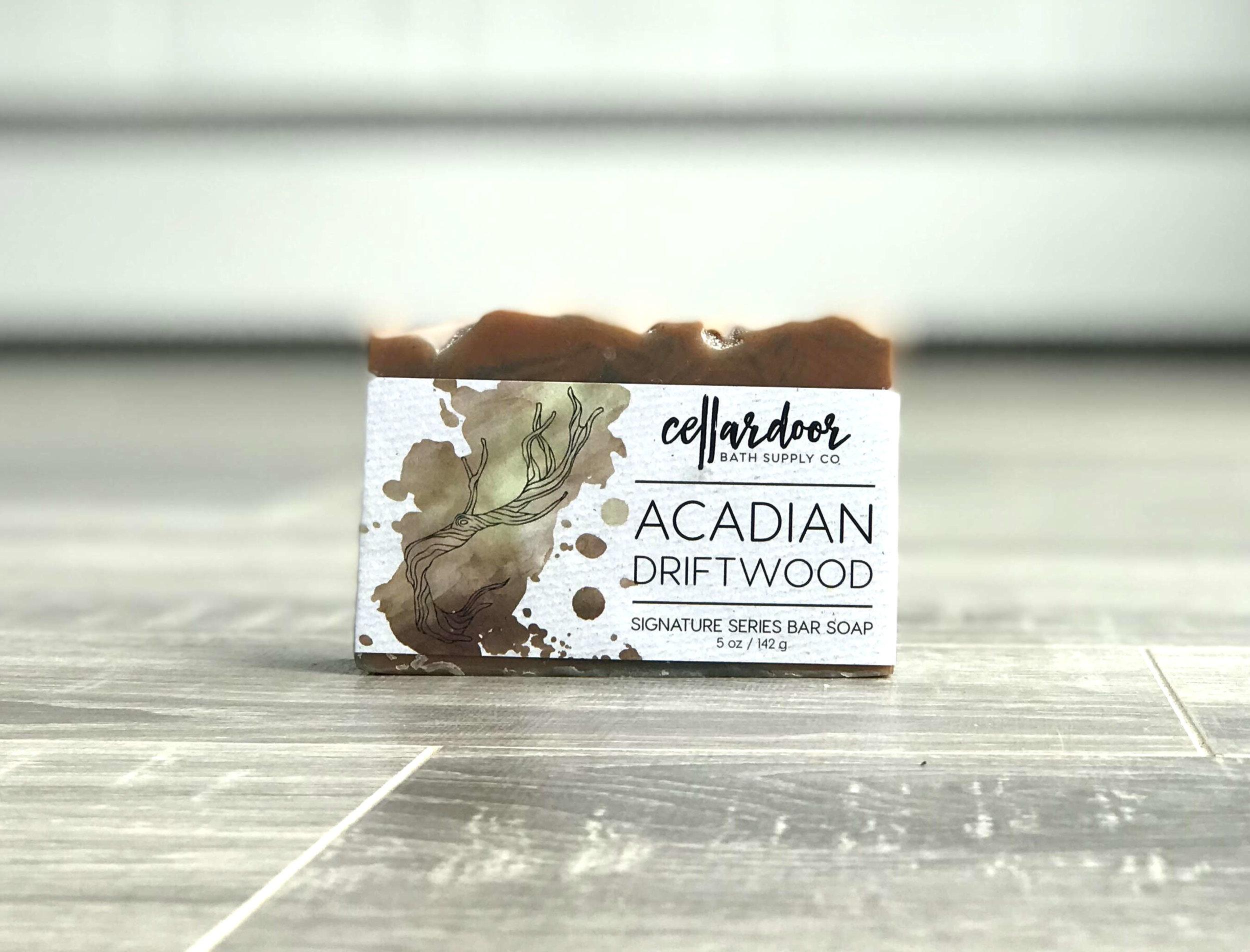 cellar Door - Acadian Driftwood soap