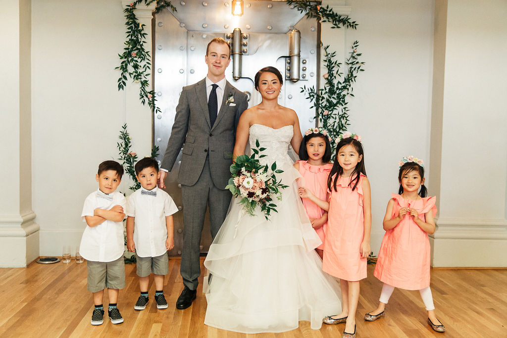 Keepsake Events Vancouver Wedding Flower Girls Ring Bearers