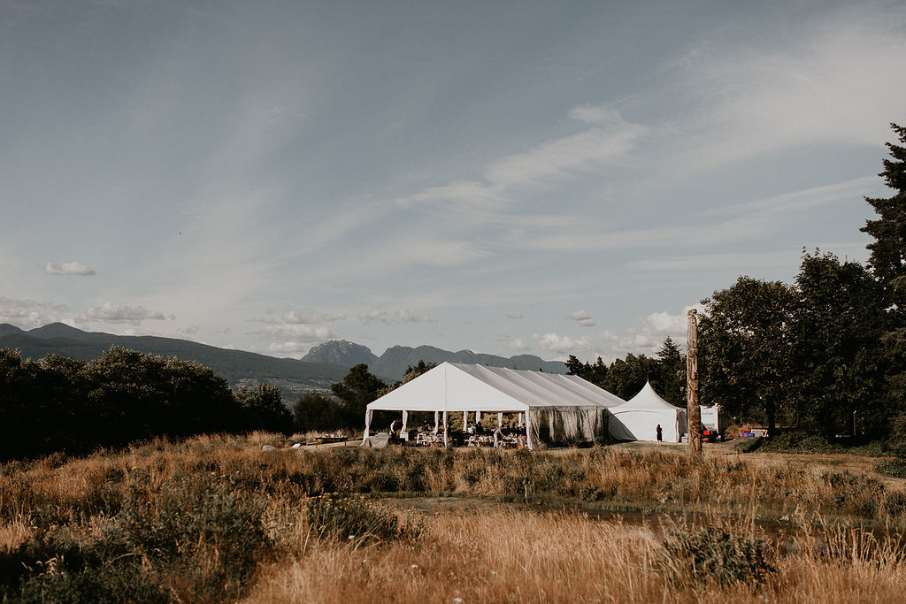Keepsake Events Vancouver Wedding MOA Tent