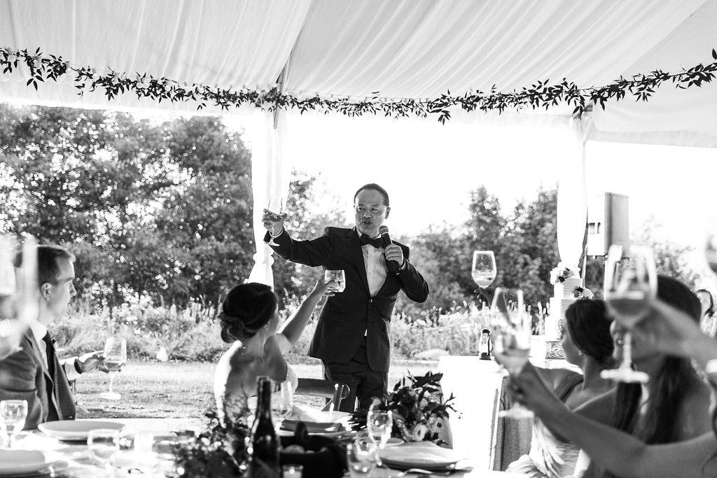 Keepsake Events Vancouver Wedding Toast