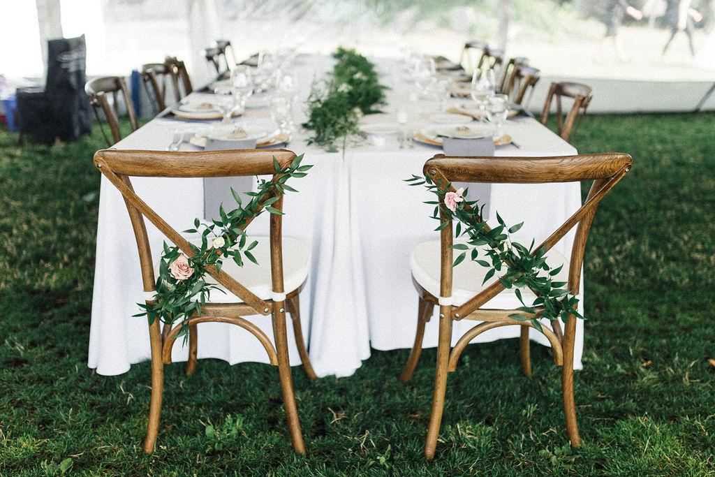 Keepsake Events Vancouver Wedding Head Table