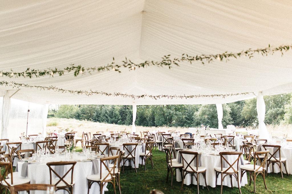 Keepsake Events Vancouver Wedding Tent MOA
