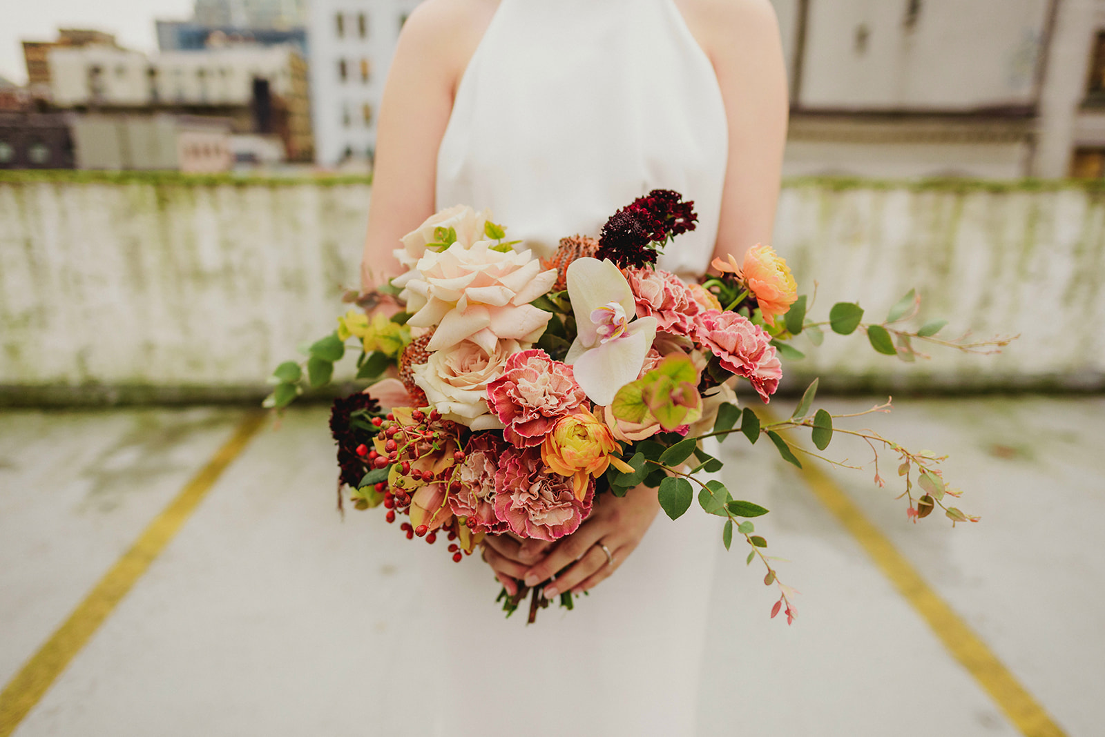 Keepsake Events Vancouver M&H Wedding Bridal Bouquet