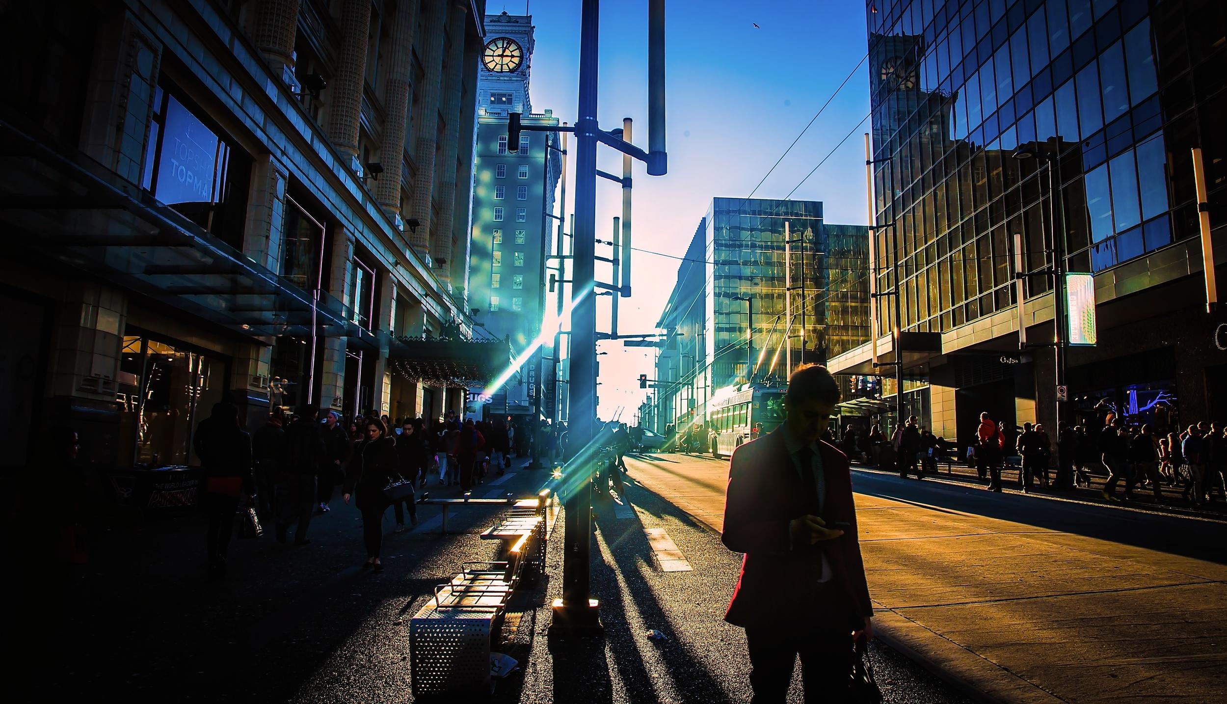 3:00PM IN GRANVILLE STREET