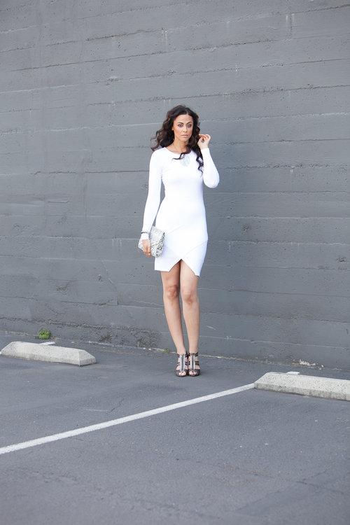 Alicia Jay Tall Style ASOS White Dress 2.jpg