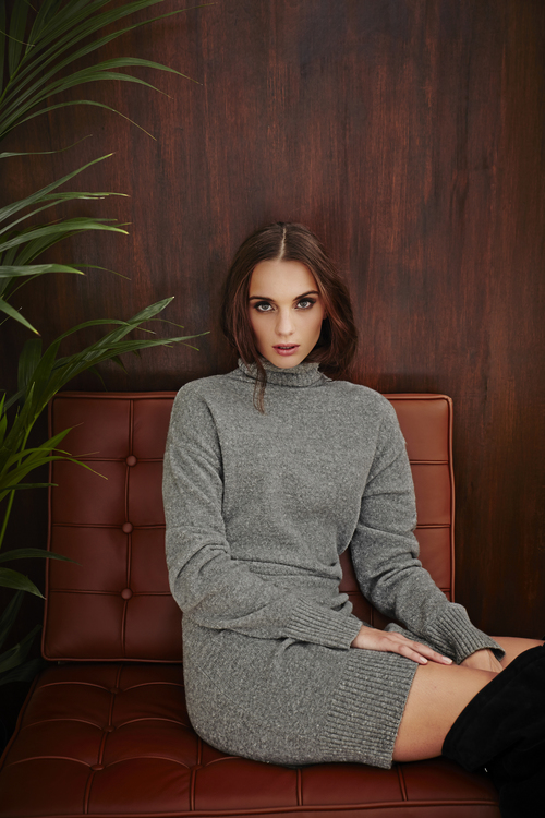 Cocoon Sweater Dress