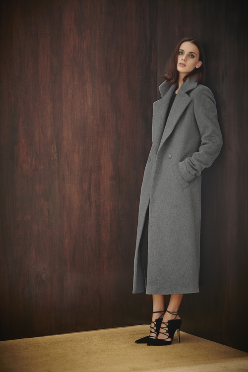 Drawn Crombie Coat