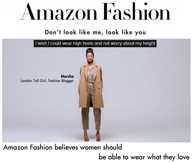Image credit: I Wish I Could Wear | Amazon Fashion video