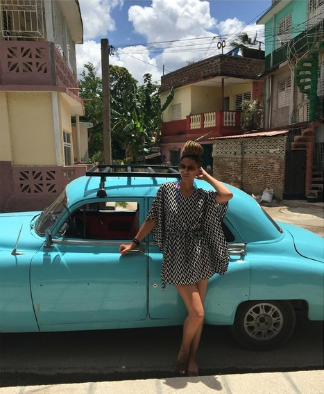 We rented one of the old taxi's to go to Guardalavaca. I couldn't get enough of the old cars! Our driver drove 74 miles, stayed with us the entire day and drove us home. It was a beautiful experience to see the Cuban countryside from one of the classic cars in Cuba.