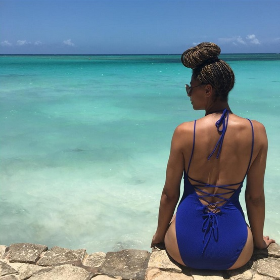 The beaches in Guardalavaca were absolutely beautiful. I really have no words for how beautiful they were! Easily one of my favorite moments on the trip.   Long Torso Swimsuit - TTYALondon for Long Tall Sally.   Long Torso Swimsuit: Taller Than Your Average for Long Tall Sally