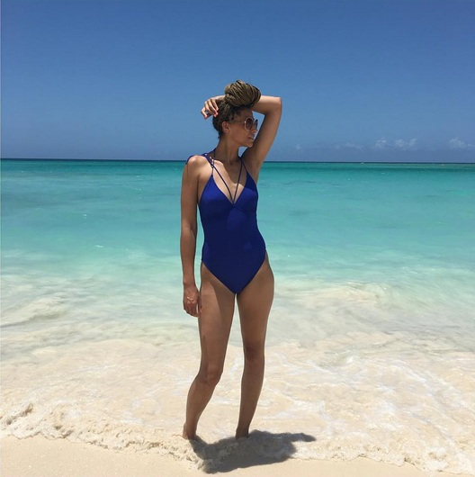 I could have stayed on the beaches of Guardalavaca for the entire trip.   Long Torso Swimsuit: TTYALondon for Long Tall Sally .