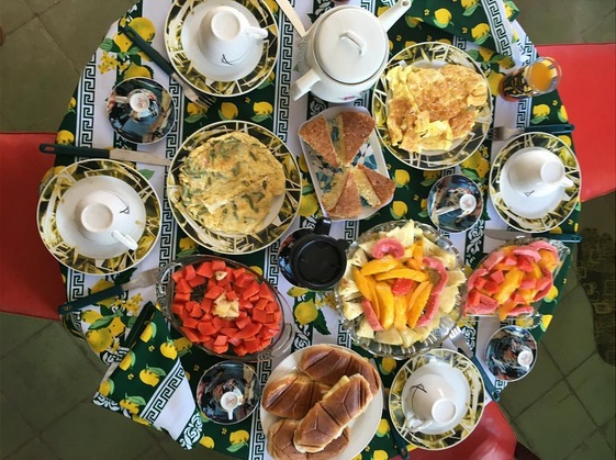 Our host family made us feel like part of their family and put love in to every meal. They cooked breakfast for us everyday at only $4 per person. It was delicious!