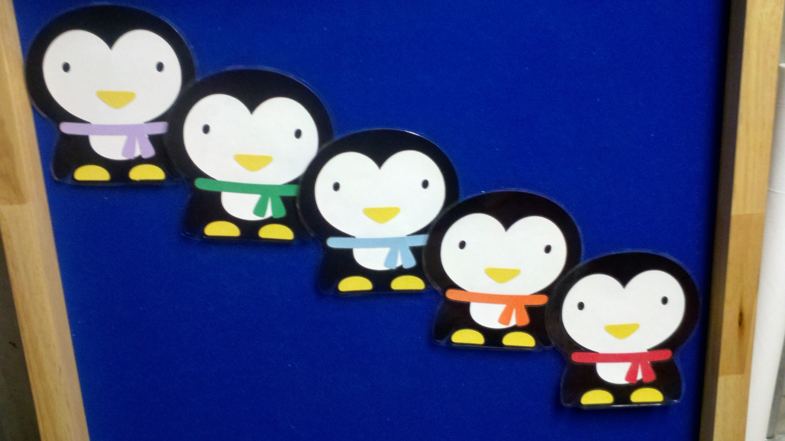 fivepenguins