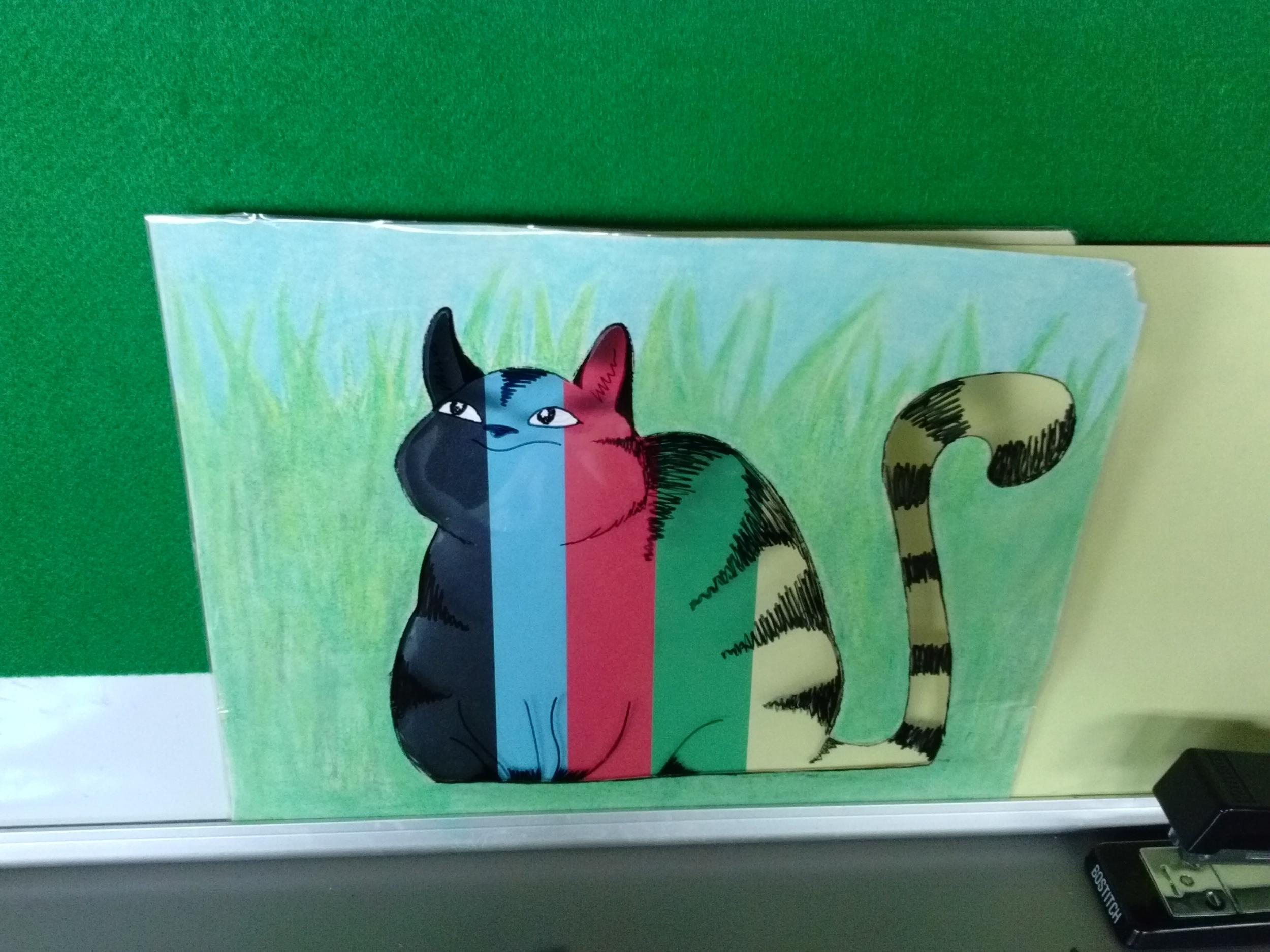 Scat the Cat - Folder Story