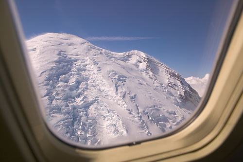 I wasn't in the window seat, butfound this very similar view on the Living Wilderness website.