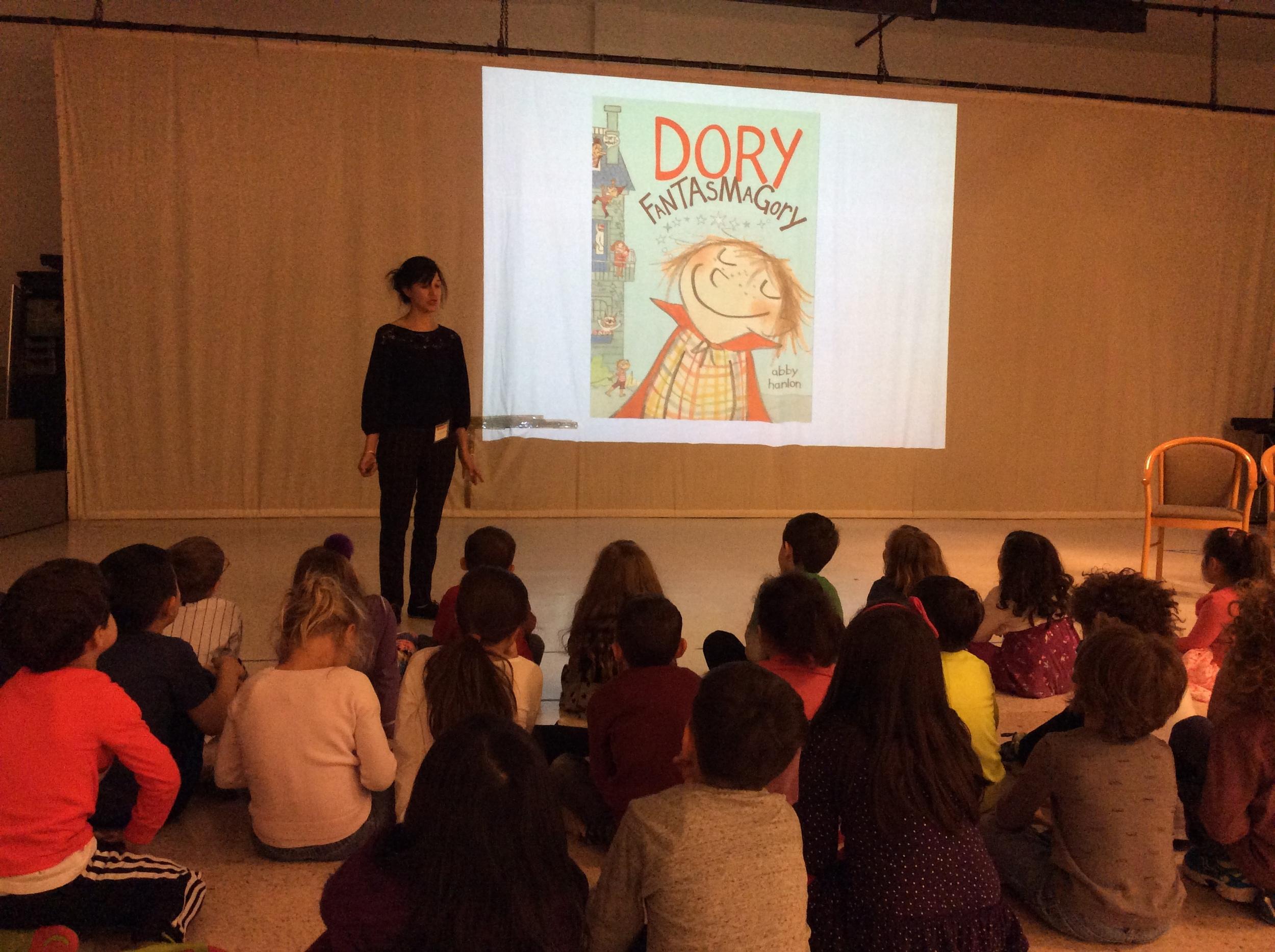 At Trevor Day School in Manhattan