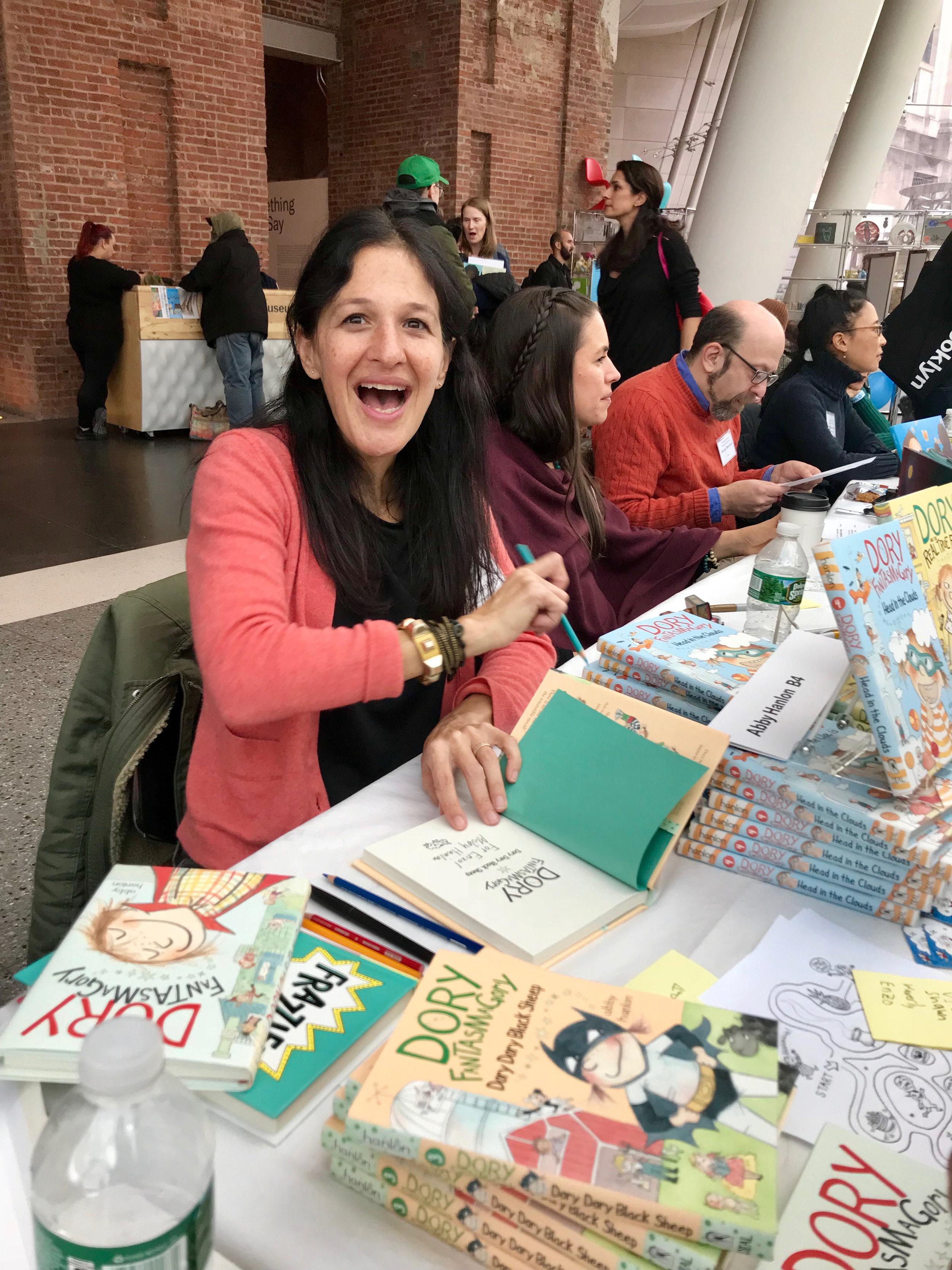 Brooklyn Museum Book Festival, Nov 2018
