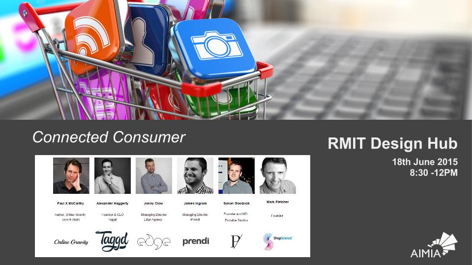 Conference about the Future of Retail by Australia's Peak Digital Industry Association: AIMIA.