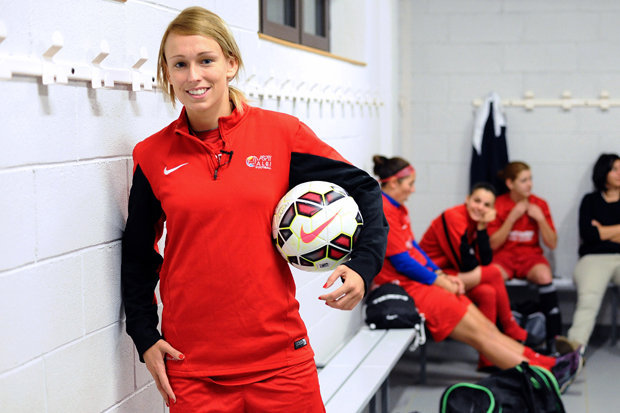 STEPHANIE ROCHE OF IRELAND IS THE FIRST WOMAN TO EVER BE NOMINATED FOR THE FIFA PUSKAS AWARD. CLICK THE ABOVE LINK TO VIEW HER GOAL AND VOTE.