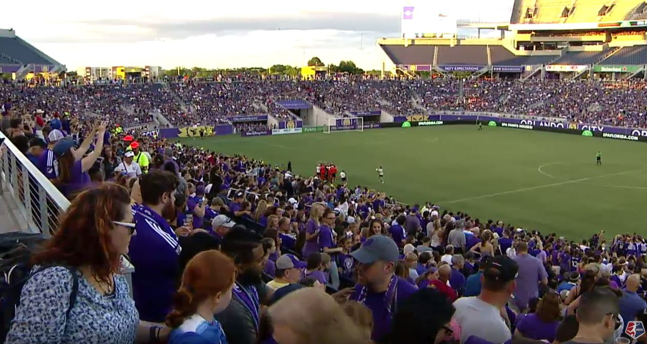 Orlando Pride crowd 2016!