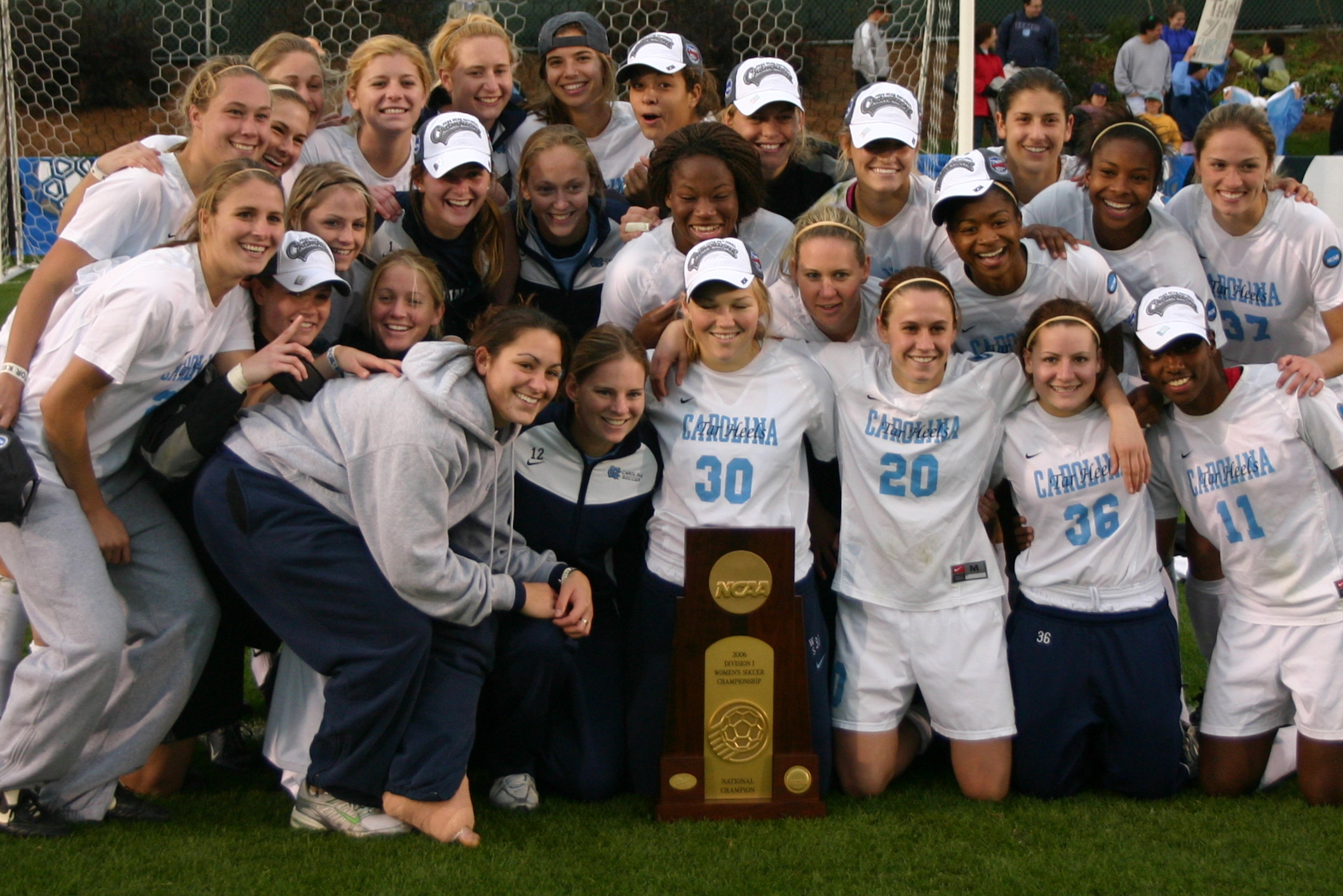 2008 North Carolina team of college hopefuls. How many soccer girls do you recognize?