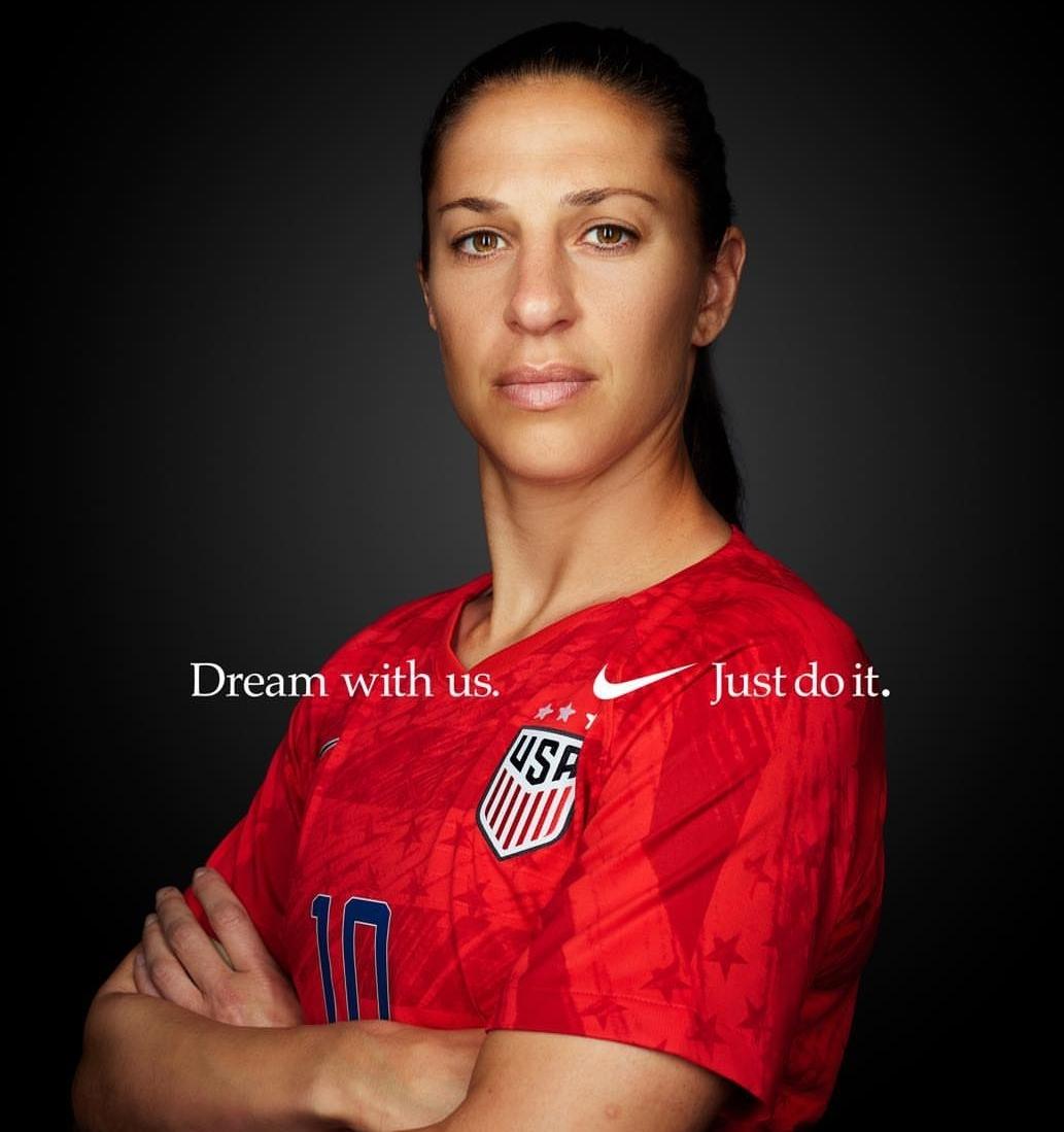 Carli Lloyd. Nike.
