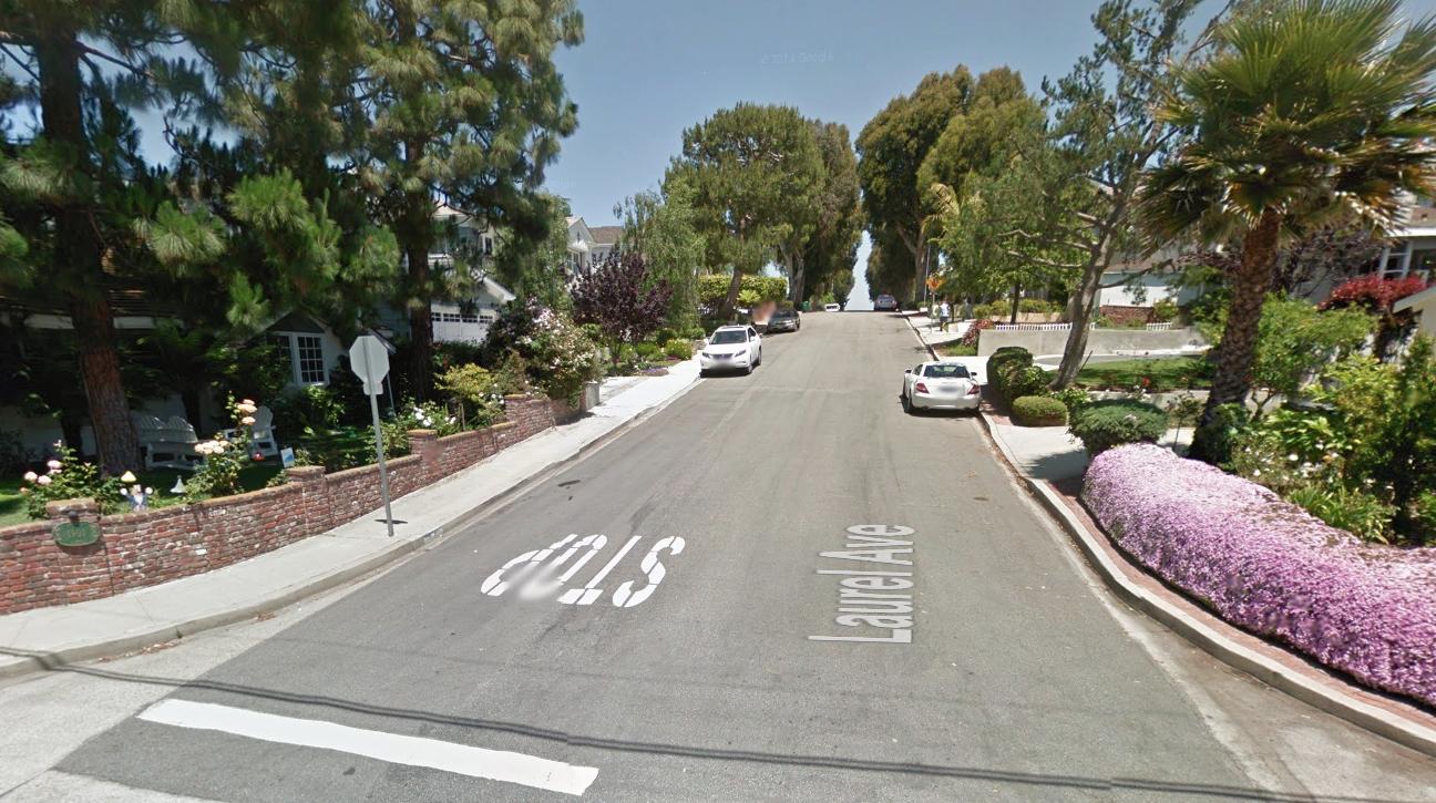 Laurel Avenue Hill- Manhattan Beach, California.png
