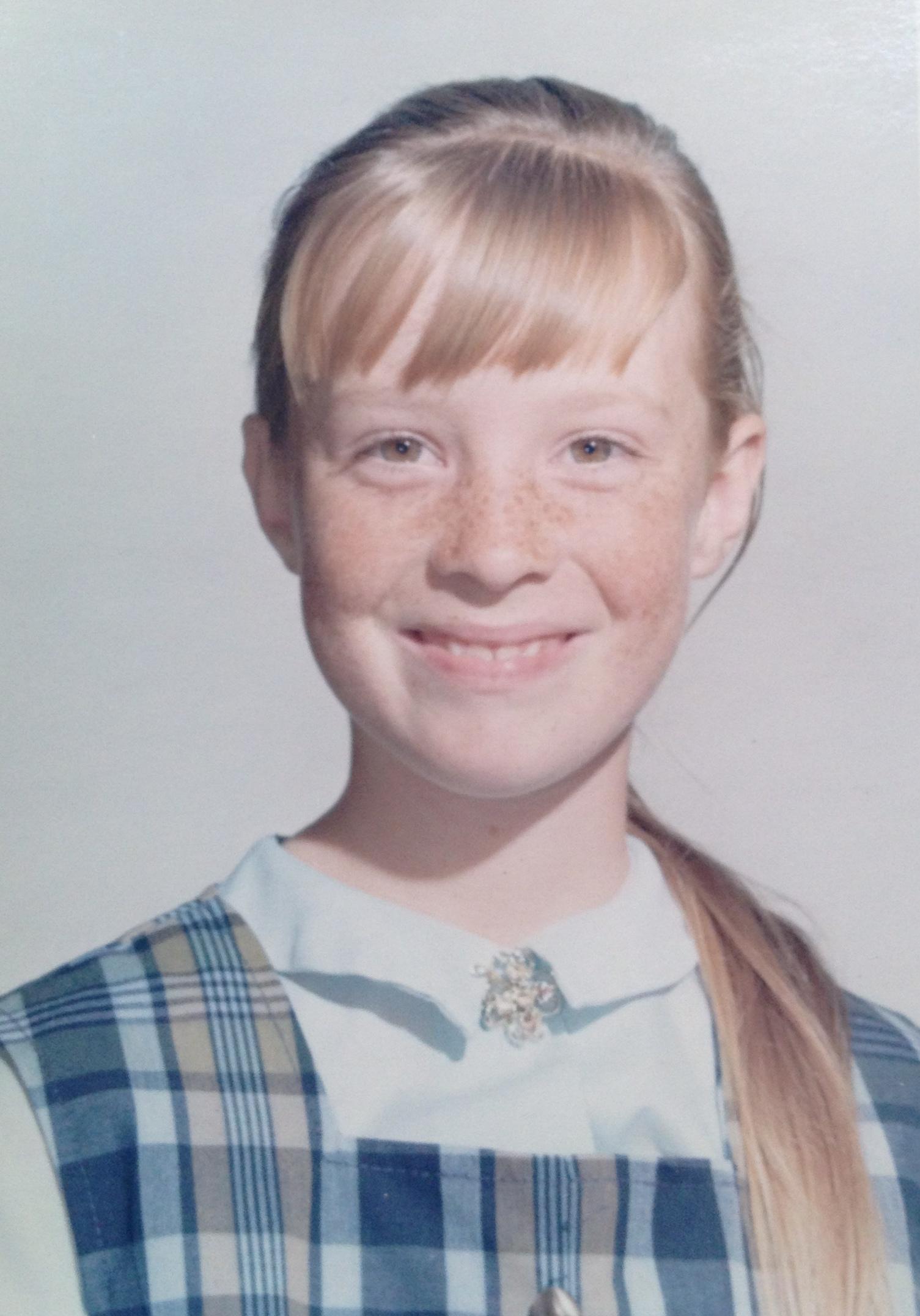 Judith O'Donnell. Age 9. 1966. Manhattan Beach, California.